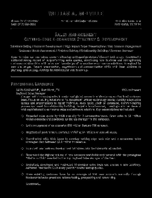 Resume Templates Copy And Paste