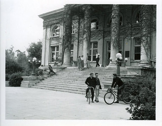 Carnegie Hall, shortly after it was renovated in 1953 for classrooms and faculty offices