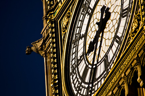 Westminster - Details of the Clock - 09-12-12