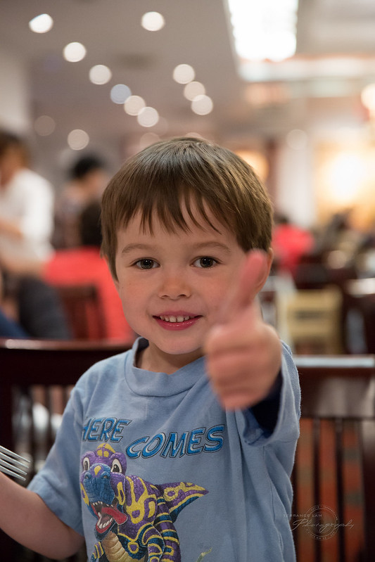 Thumbs up for Dim Sum