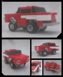 1957 Chevy gasser