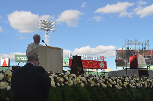 Boston College Sesquicentennial Mass at Fenway Park