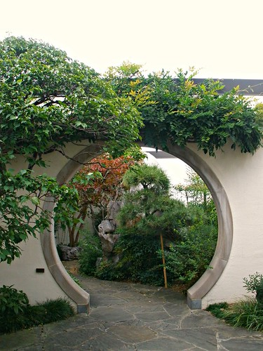round entrance