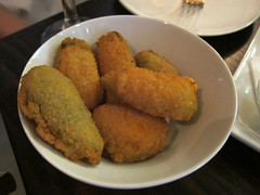 Fried Cheese Stuffed Jalapeno Peppers