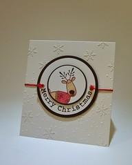121207 Linda workshop Christmas Rudolf