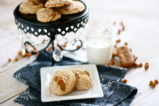 Biscoff cheesecake Pudding Cookies 002