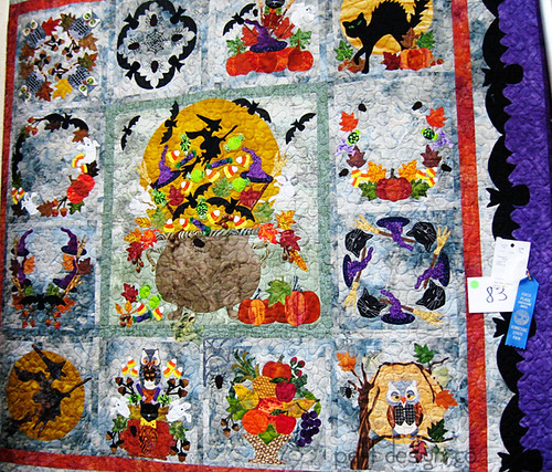 TN State Fair quilts - Halloween