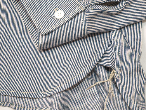 Five Brother / Hickory-Stripe L/S Work Shirt