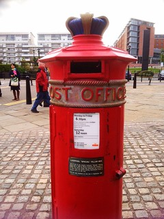 Old Liverpool Postbox 1863