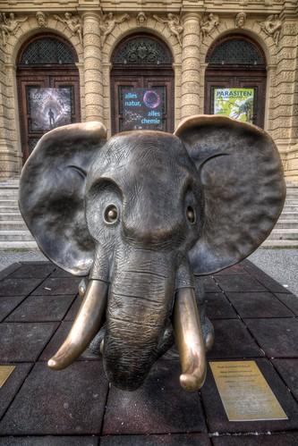 Gottfried Kumpf's Bronze Elephant