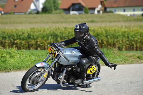 classic motorcycle Oldtimer Grand Prix 2012 Schwanenstadt Austria Copyright B. Egger :: eu-moto images 1263
