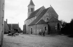 Church Saint-Martin de Nohant-Vic, Indre, France