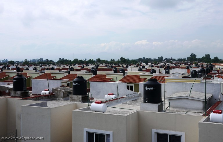 Housing on outskirts of Tepic