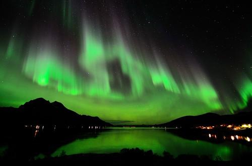 longexposure seascape reflection colors stars landscape aurora nordnorge northernlights borealis tromsø nordlys rya tokina1116 nikond7000
