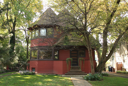 Robert P. Parker House by Frank Lloyd Wright - Oak Park - Chicago