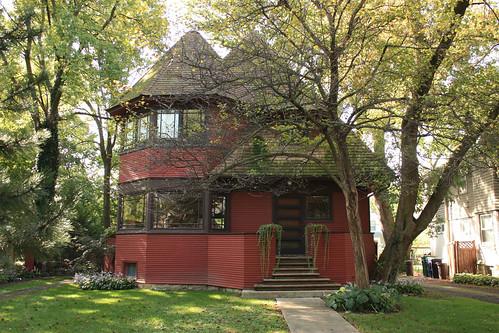 Robert P. Parker House by Frank Lloyd Wright - Oak Park - Chicago