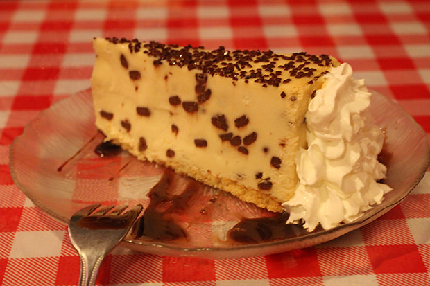 Chocolate Chip Cheesecake, Lobster Pot, Siesta Key, Sarasota, FL, Restaurant Review