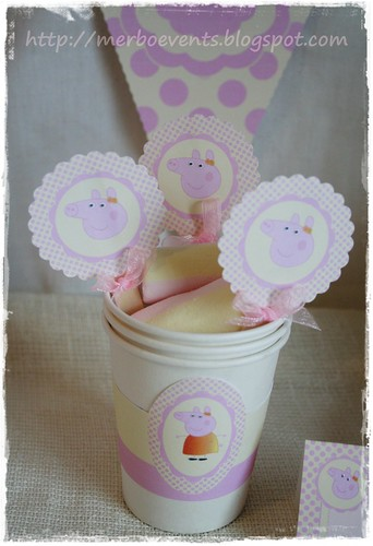 Toppers 2 Merbo Events Kit Peppa Pig