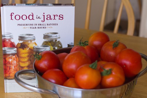 Food in Jars cookbook & Early Girl tomatoes