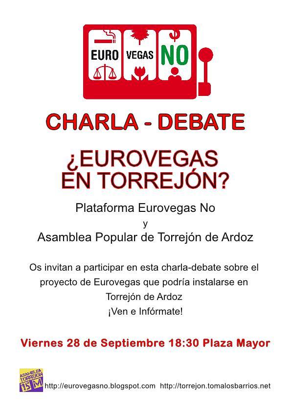 Debate Eurovegas