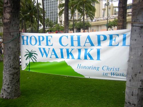 Hope Chapel Waikiki banner