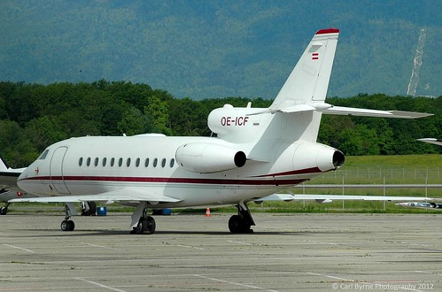 OE-ICF Dassault Falcon 900 of International Jet Management GmbH