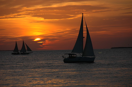 Sunset in Florida Key West