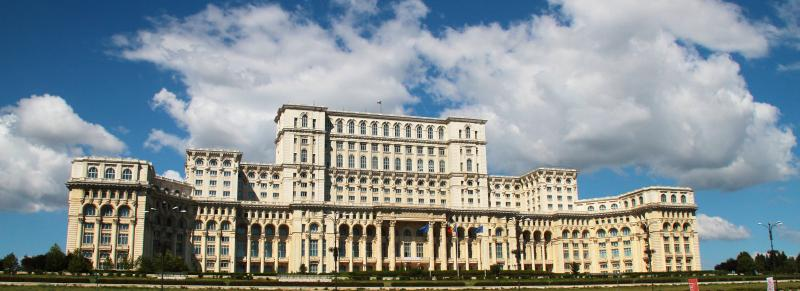 Palace of the Parliament - Bucharest, Romania