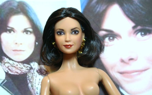 Kate Jackson Barbie by Donna Brinkley.