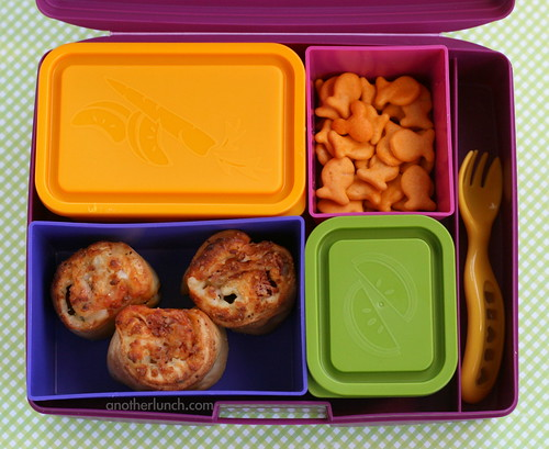 Hidden Mickey bento with Laptop Lunches lids
