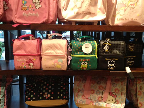 Hello Kitty Lunchboxes totes