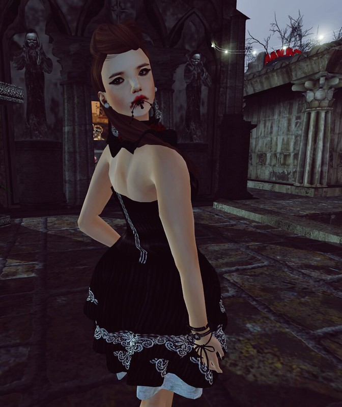 Bubblez Design new release - Lolita Vampiress outfit1