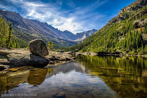 landscape colorado hiking rockymountainnationalpark glaciergorgetrail