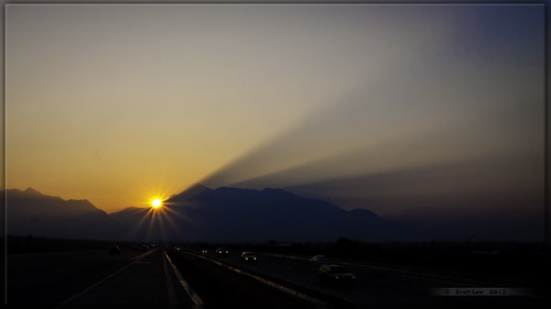 Smokey Sunrise by Just Used Pixels
