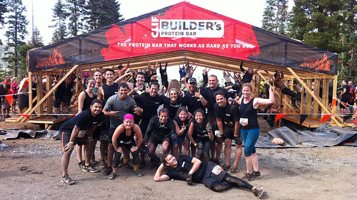 Tough Mudder team builders obstacle