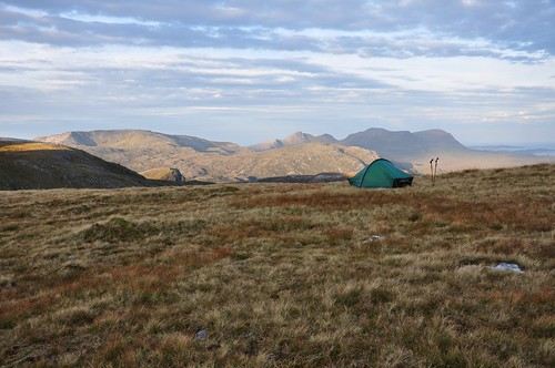 Camp on Beinn Leoid