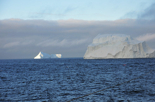 work arctic greenland icebergs
