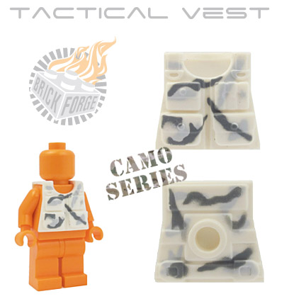 Tactical Vest - White (camouflage)