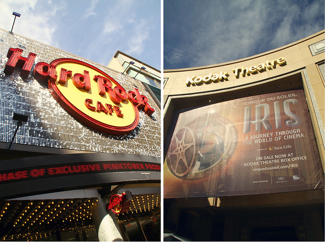 hardrock, kodak theatre, hollywood
