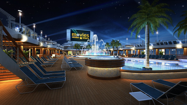 royal princess movies under the stars