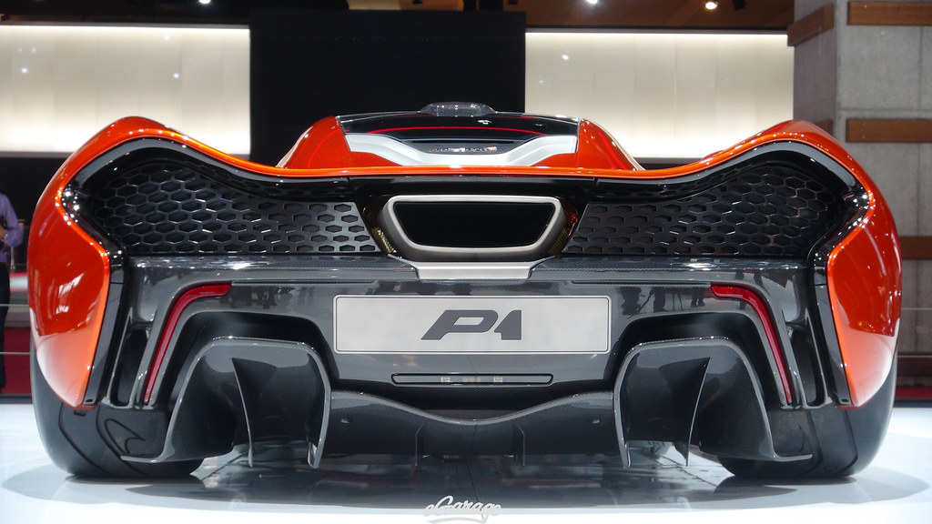 8034742490 66f7213710 b eGarage Paris Motor Show McLaren P1 Rear
