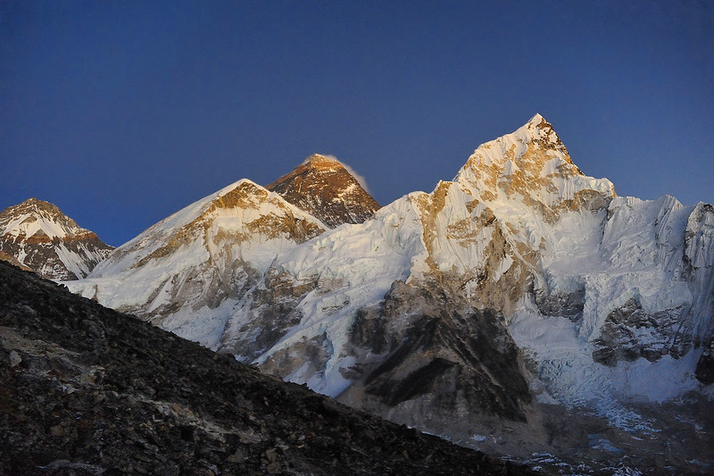 Everest in Dusk