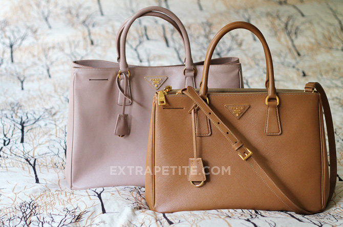 prada tote bags leather