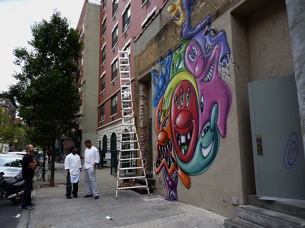 New Kenny Scharf on Norfolk St.