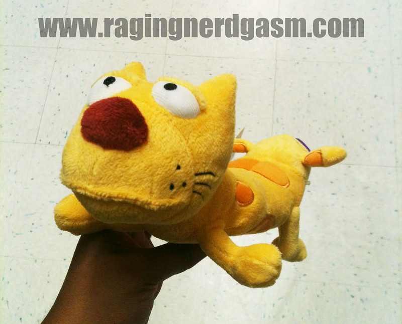 NickToons Plush by Jazwares Cat Dog007