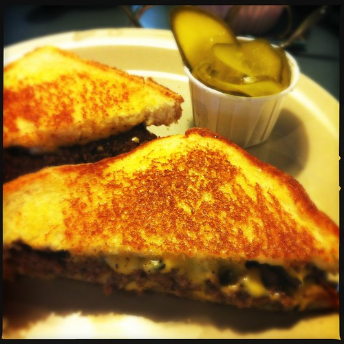 Patty melt, CK's Coffee Shop, Memphis, Tenn.