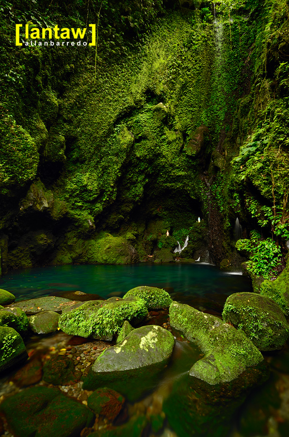 Natural spring pool at Bukal/Bucal Falls aka Kilangin Falls