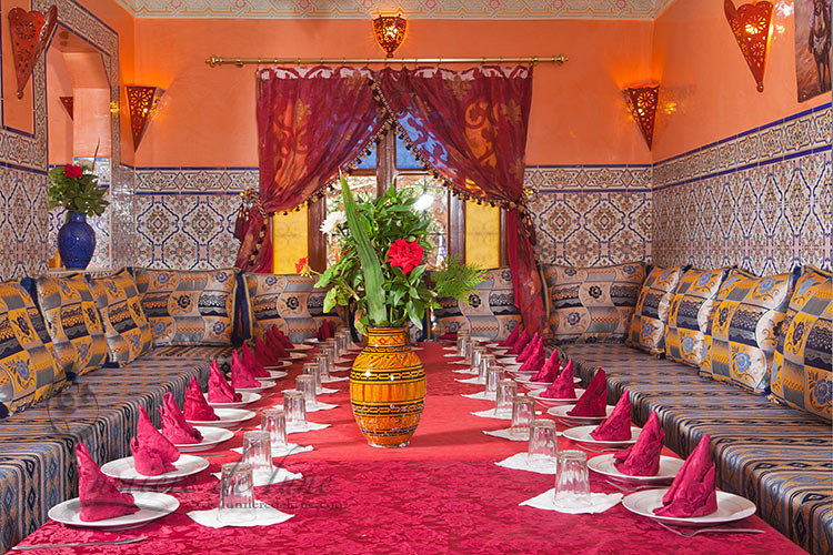 Moroccan Dining Room Marie Aude Flickr