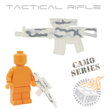 Tactical Assault Rifle - White (camouflage)