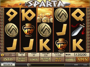 Sparta Slot Machine